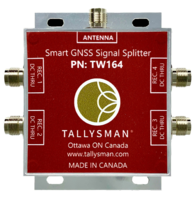 New Smart Power GNSS Signal Splitters Available with TNC or Type-N Connectors