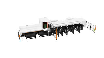 New FT-150 Fiber Laser-Cutting Machine Utilizes 2.5D Cutting Head with Focus Detection