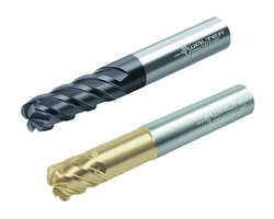 New Solid Carbide Milling Cutters Available with Cylindrical Shank or ConeFit Head Systems