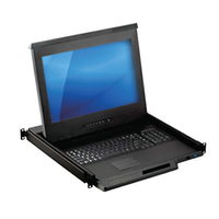 New KD83174 4K LCD Console Drawer Comes with 104-Key Keyboard with Touchpad or Trackball