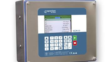 New KCM Feeder Controller Features 5-inch LCD Screen with Improved User Interface