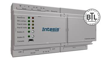 New Intesis Protocol Translator is BTL Certified and Carries UL Mark