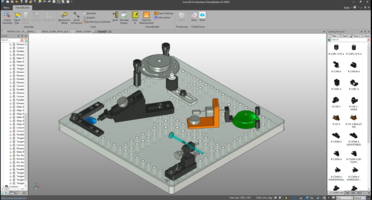 Latest FixtureBuilder 8.0 3D-Modelling Software Supports Parasolid, STEP, ACIS, STL, IGES and 3D CAD File Formats