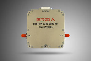 New Wideband High-Power Amplifier Provides 49 dB of Gain