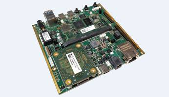 New Carrier Board Features Gigabit Ethernet, PCI Express, MIPI DSI and CAN