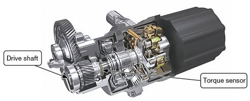 New Non-Contact Torque Sensor is Ideal for Mass Production and Easy Adoption by Automakers