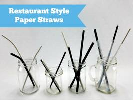 New Aardvark Paper Drinking Straws are Durable, Safe and Eco-Friendly