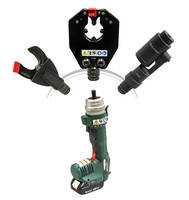 New GRE-6 is 6-ton Hydraulic Tool with Six Interchangeable Tool Head Options
