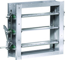 New Industrial Control Dampers with Temperature Rating of -40 to 1000 Degrees F