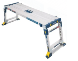 New Aluminum Adjustable Pro Work Platform with Load Capacity of up to 300 lbs.