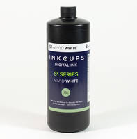 New Vivid White Ink from Inkcups Can Print on Dark Substrates