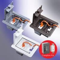 New Electrical Outlet Kit is cULus Listed, and NEC, NEMA 3R Compliant