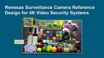New UHD Surveillance Camera Comes with Multi-Interface Support for Video Output