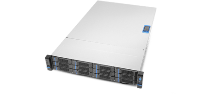 New RB23712 12-Bay 2U Rackmount Server Comes with 12X 3.5 in. Storage Bays