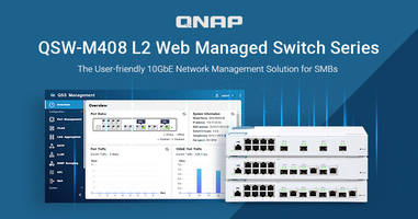 New 10 GbE L2 Web Managed Switches Support Rapid Spanning Tree Protocol