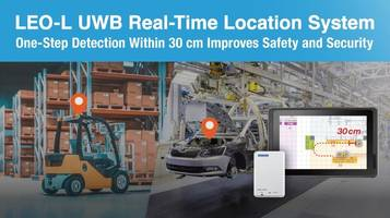 New UWB Real-time Location System for Cargo Management and Workforce Monitoring
