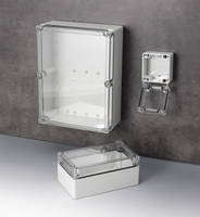 New Electronic Enclosures Available in Polycarbonate