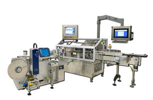 New VR-72 Labeler from WLS is Equipped with 15 in. Color Touchscreen HMI