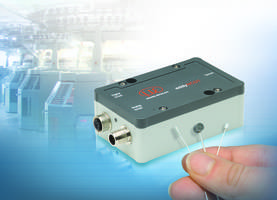 New eddyNCDT 3070 Displacement Measuring System is Designed for Small Measuring Ranges Below 1 mm.
