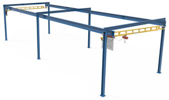 New SPANMASTER Workstation Crane Systems Come with Steel or Resin Wheels