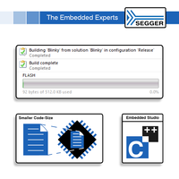 Latest Embedded Studio V5 Software Helps to Generate Extremely Small Programs