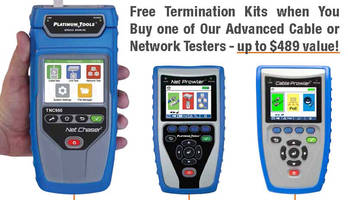 Platinum Tools® Offers Free Termination Kits