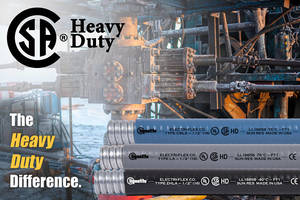 "Liquatite® Conduit Types LA, ZHLA, and CBLA Now CSA Certified ""Heavy-Duty"""