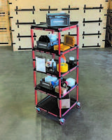 New Shelf Carts Designed to Hold up to 500 lb.