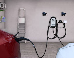 New 40 Amp Dual EV Charging Station with Hardwired or Plug-in Options