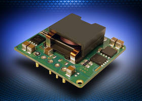 New i7C Non-isolated DC-DC Converters Available with Input Range of 9 to 53 Vdc