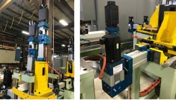 Hydroform Tube Processing Machine Upgrade with SMART Hydraulic Actuators
