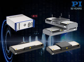 New V-817 Linear Stages Feature Load Capacity of 600 N