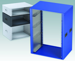 Latest TECHNOMET Rack Enclosures Comes with Steel Rack Mounting Brackets