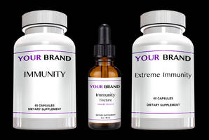 New Tasting Liquid Tinctures or Capsules Support Immune System Health