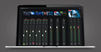 New Audio Mixer Panel Feature Provides Zero Latency Execution of Production Commands