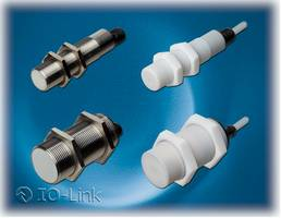 New Capacitive Proximity Sensors Provide Programmable Sensing Distance and Hysteresis