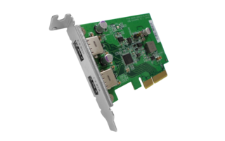 New USB 3.2 Gen 2 PCIe Expansion Card Uses QNAP USB JBOD for Easy Storage and High-Speed Data Backup