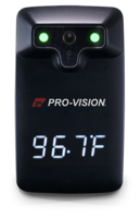 New Touchless IR Thermometer Provides Audible and Visual Notifications