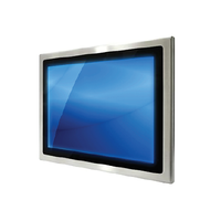 Full IP66 Stainless Steel Panel Mount Monitors
