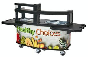 New Vending Cart from Cambro is Ideal for Both Indoor and Outdoor Applications