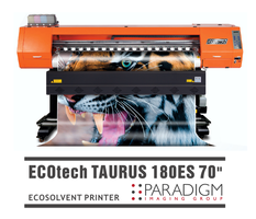 "New ECOTECH Taurus 180ES 70"" Printer Provides Cutting Edge Technology"