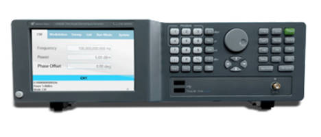 "New LSxxx1B Series Analog RF Signal Generator Offers 5"" Touch Screen with User Friendly GUI"