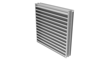 New Louvers Available with Low Pressure Drop