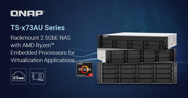 New Rackmount NAS Series Support AES-NI Encryption and SATA 6 Gb/s Drives