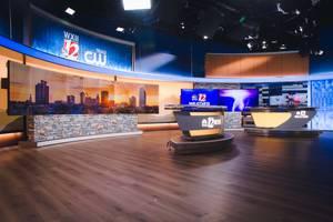 WXII Illuminates News Set with Brightline LED Fixtures