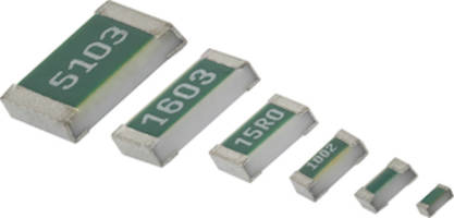 Latest TNPW e3 Series Flat Chip Resistors are Halogen-Free and RoHS-Compliant