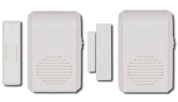 New Wireless Doorbell Chime with No Electrical Wiring