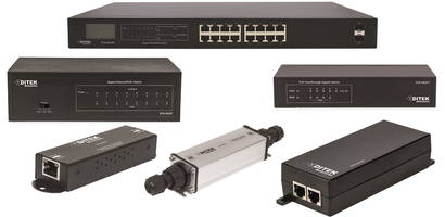 New PoE Switches, Injectors and Extenders for IT Professionals, Installers and Security Integrators