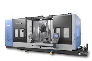 New PUMA SMX5100L Turn-Mill Center Comes with FANUC 5-Axis Machining Software