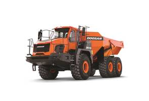 Latest Articulated Dump Trucks Comes with DoosanCONNECT Telematics Equipment Diagnostic Tool